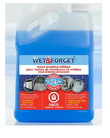 Bleach Free No Scrub Moss Mould Amp Mildew Cleaner Wet
